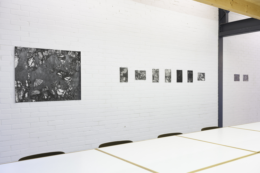 Rozemarijn Westerink - Cascade, exhibition view, Plaatsmaken Arnhem, 2019, photo: Peter Cox